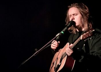 Lewis Capaldi at the Moroccan Lounge